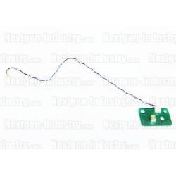 Capteur lecteur cd ps3 + câble noir et rouge