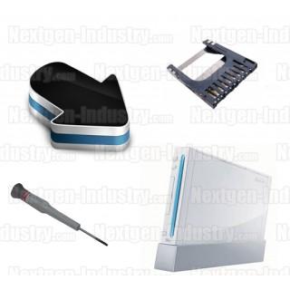 Forfait réparation lecteur de carte mémoire SD Wii