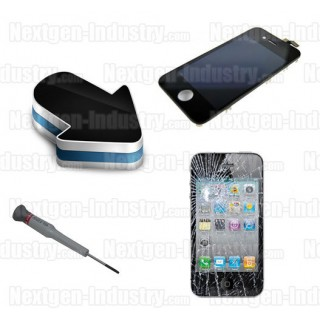 Reparation ecran LCD + vitre tactile iphone 4G