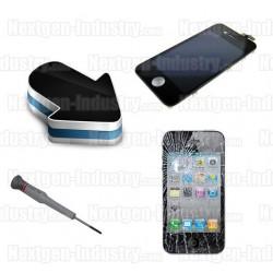 Reparation ecran LCD + vitre tactile iphone 4S