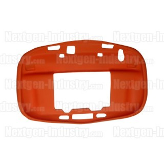 Housse silicone orange manette GamePad Wii-U