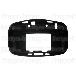 Housse silicone noire manette GamePad Wii-U