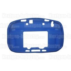 Housse silicone bleue manette GamePad Wii-U