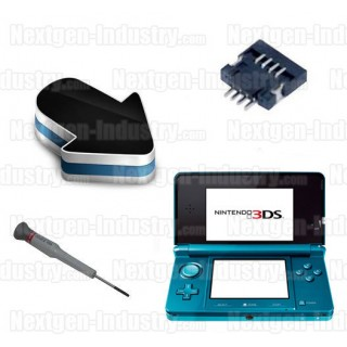 Réparation connecteur tactile joystick P10 ou P12 Nintendo 3DS