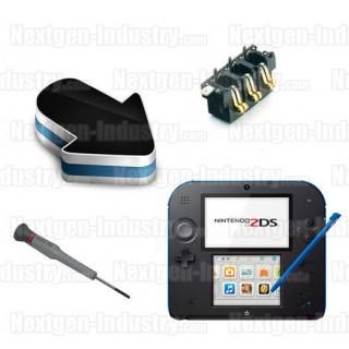 Réparation connecteur batterie Nintendo 2DS
