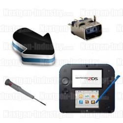 Réparation connecteur prise chargeur Nintendo 2DS