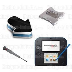 Réparation lecteur de cartes Slot 1 Nintendo 2DS