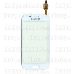 Vitre tactile originale Galaxy Trend S7560 et S7562 Blanc