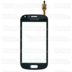Vitre tactile originale Galaxy Trend S7560 et S7562 Noir