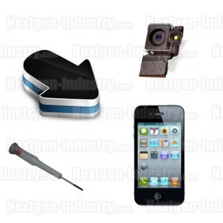 Réparation caméra appareil photo arrière Iphone 4G