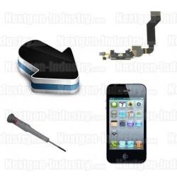 Réparation micro + prise chargeur Iphone 4G