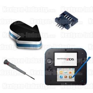 Réparation connecteur P14 Nintendo 2DS