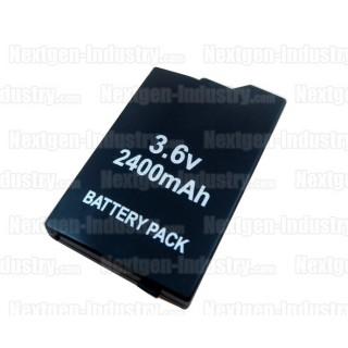 Batterie 2400mah pour PSP Slim