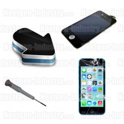 Réparation écran LCD + vitre tactile iphone 5C