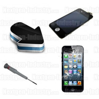 reparation ecran lcd vitre tactile iphone 5. Black Bedroom Furniture Sets. Home Design Ideas