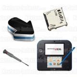Réparation lecteur SD Nintendo 2DS