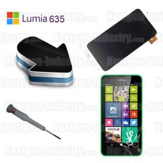 Réparation vitre tactile écran Nokia Lumia 630 et 635