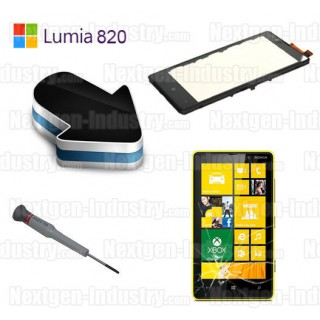 r paration vitre tactile nokia lumia 820. Black Bedroom Furniture Sets. Home Design Ideas
