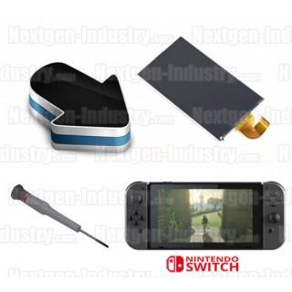 Réparation écran LCD cassé Nintendo Switch