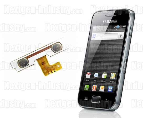 R�paration bouton volume son Samsung Galaxy Ace S5830