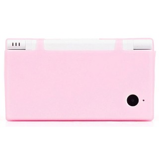 Housse silicone rose Nintendo DSi