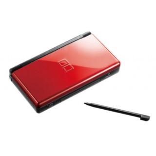 Coque DS Lite Noir et rouge Crimson