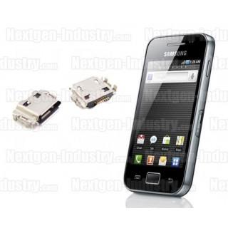 Réparation connecteur prise chargeur Samsung Galaxy Ace S5830