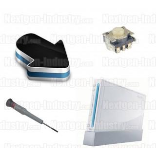Forfait réparation bouton Power, Reset ou Eject Wii