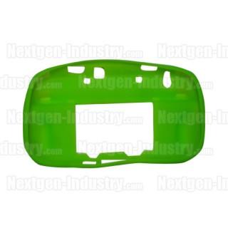 Housse silicone verte manette GamePad Wii-U