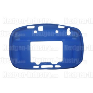 Housse silicone bleue manette GamePad Wii-U