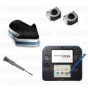 Réparation gâchettes bouton L et R Nintendo 2DS