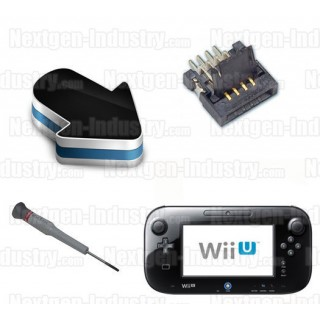 Réparation connecteur écran P2 ou P15 GamePad Wii-U
