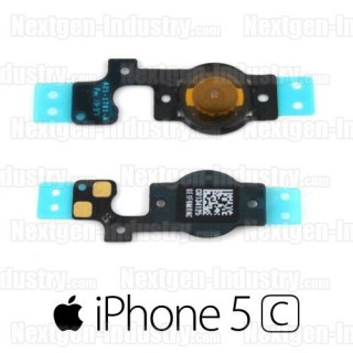 Nappe bouton Home Iphone 5C