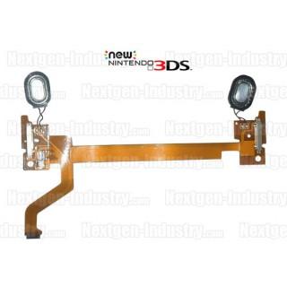 Nappe 3D Volume Hauts-parleurs Nintendo New 3DS