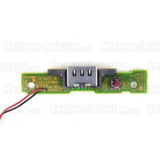 Platine + connecteur chargeur GamePad Wii U