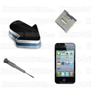Réparation lecteur carte SIM Iphone 4S