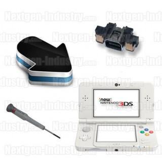 Réparation connecteur prise chargeur Nintendo New 3DS / New 3DS XL