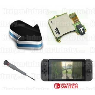 Réparation lecteur cartes jeux Nintendo Switch