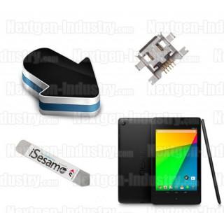 Réparation prise chargeur alimentation Asus Google Nexus 7 ME370T, ME571K et ME400C