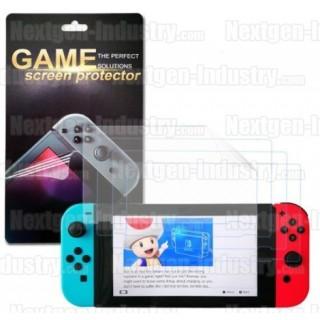Protège écran film anti-rayures Nintendo Switch