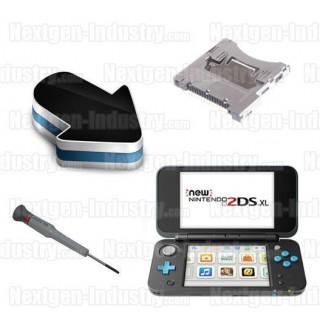 Réparation lecteur de cartes Slot 1 Nintendo New 2DS XL