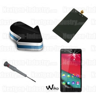 Réparation vitre tactile écran lcd Wiko Pulp 4G