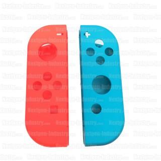 Coque de remplacement Joy-Con Nintendo Bleue et Rouge