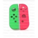 Coque de remplacement Joy-Con Nintendo Verte et Rose