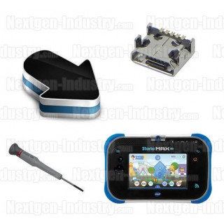 Réparation prise chargeur alimentation Vtech Storio Max 2.0