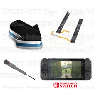Réparation rail glissière fixation joy-con Nintendo Switch