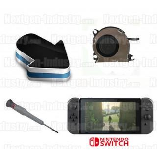 Réparation ventilateur interne Nintendo Switch