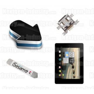 Réparation connecteur alimentation Acer Iconia Tab A1-810