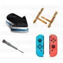 Réparation bouton SL, SR, SYNC et leds Joy-con Switch