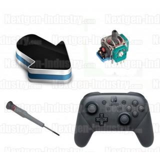 Réparation joystick interne PAD manette Nintendo Switch Pro